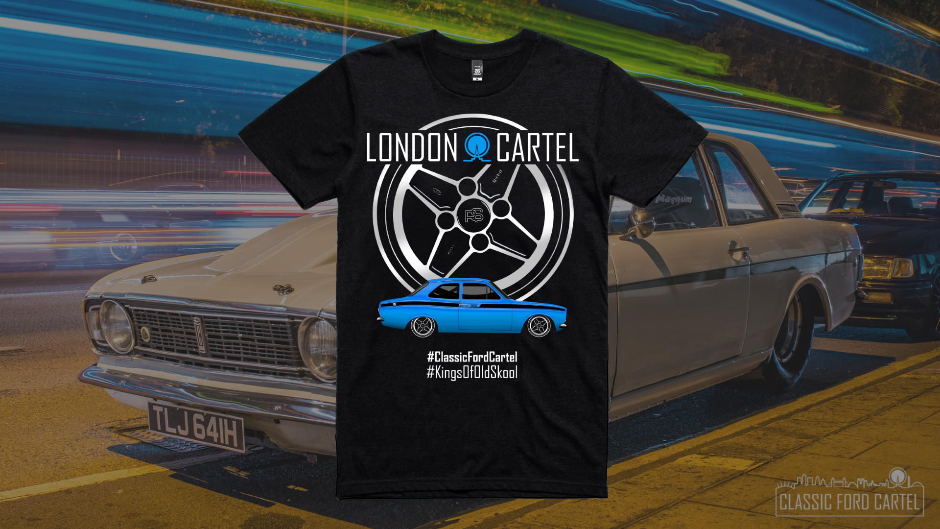 Classic Ford Cartel T Shirt LCT005 – London Cartel