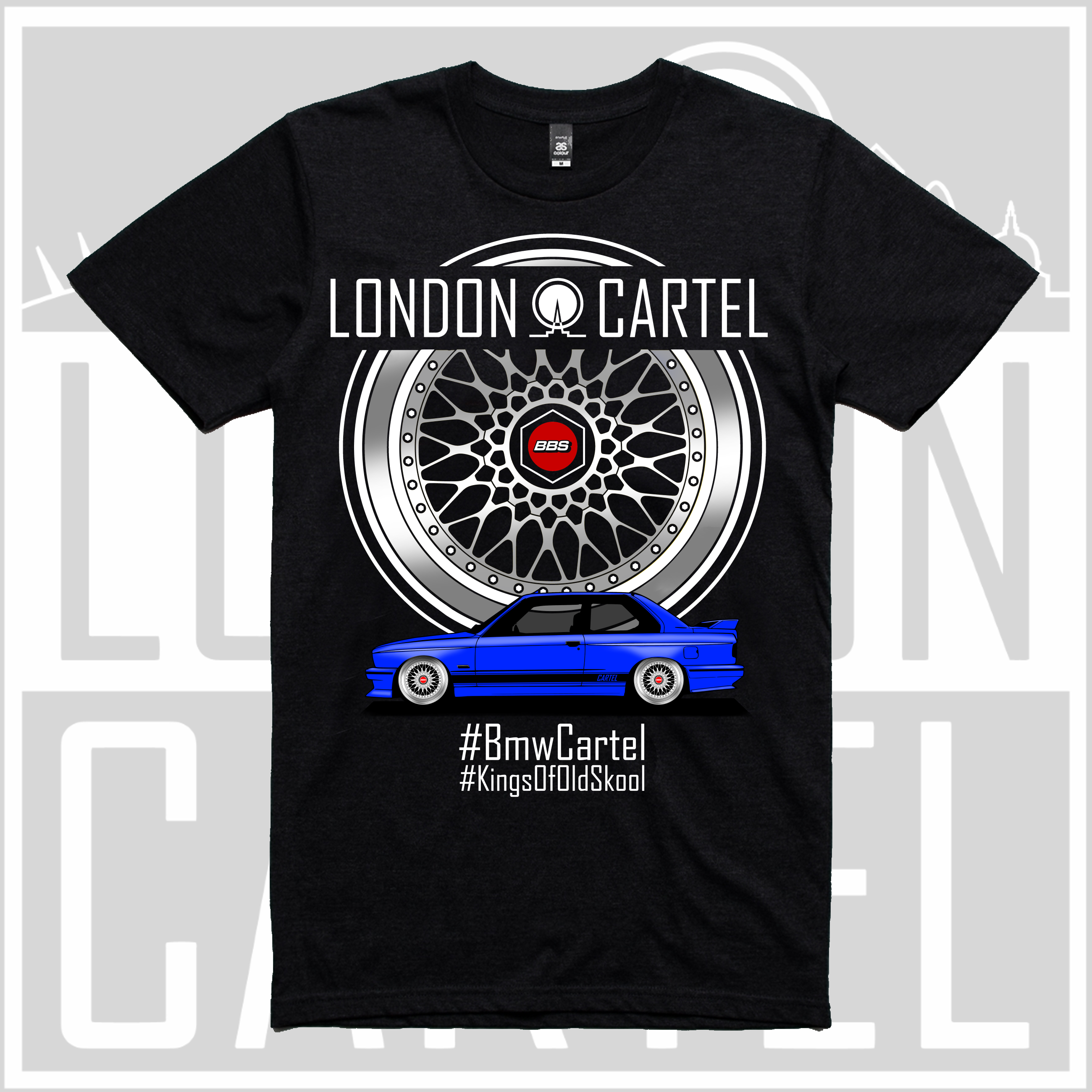 bmw cartel t shirt lct009 london cartel. Black Bedroom Furniture Sets. Home Design Ideas