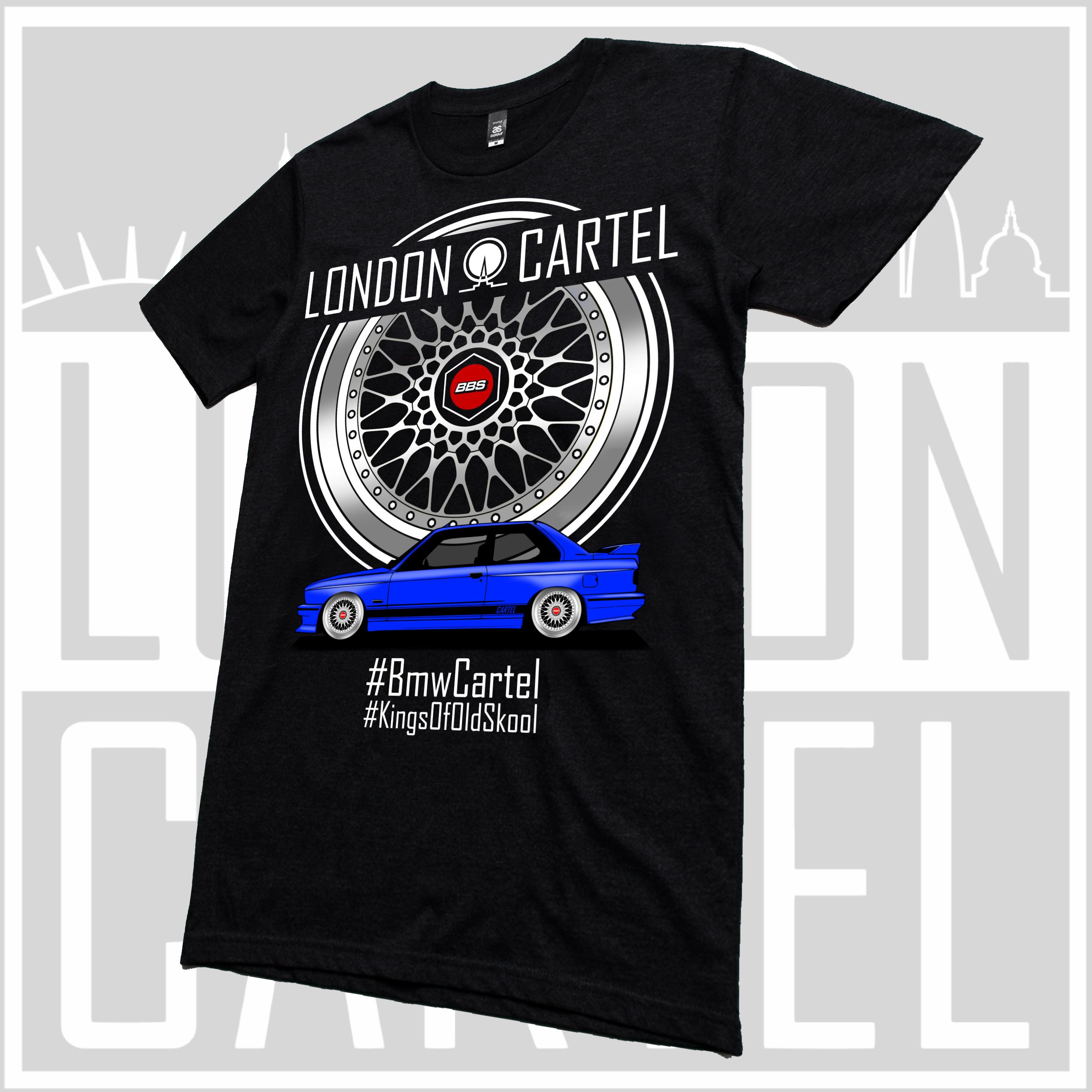 BMW M3 E30 >> Bmw Cartel T Shirt LCT009 - London Cartel